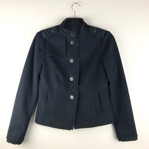 GAP Ruffle Trim Jacket - Size 2